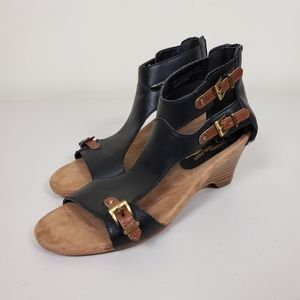 A2 by Aerosoles Mayflower Wedge Sandals Size 6